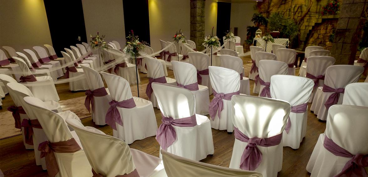 Sala Bayon, Banquets, cerimònies i celebracions. Masia Les Garrigues, les Borges Blanques Lleida